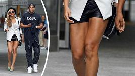 Beyoncé má neuvěřitelně vysportované nohy.