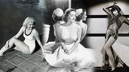 Slavné krásky stříbrného plátna 30. let minulého století.