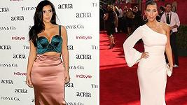 Kim Kardashian v počátcích slávy a dnes jako soubyznysem protřelá osobnost.