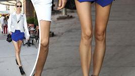 Karolína bohužel připomíná pověstné modelingové ramínko na šaty.