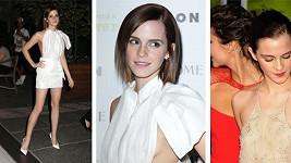 Emma Watson a další odvážný model.