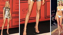 Jsou nohy Karolíny Kurkové delší než Adriany Sklenaříkové?