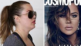 Khloé Kardashian - časopis vs. realita