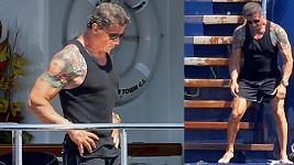 Sylvester Stallone je v neskutečné kondici.