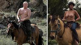 Vladimir Putin vs. Chelsea Handler