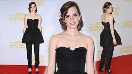 Emma Watson a její zvláštní módní kombinace.