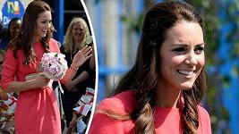 Vévodkyně z Cambridge čeká druhého potomka.