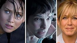Trojice nejlépe placených hereček uplynulých dvanácti měsíců.