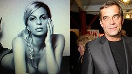 Miroslav Etzler už nechodí půvabnou blondýnou.