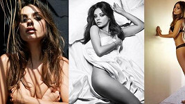 Mila Kunis pro Esquire.