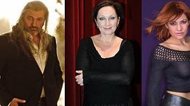 Daniel Hůlka, Bára Basiková a Ilona Csáková