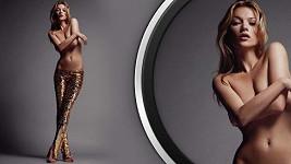 Kate Moss věnuje tento snímek do dražby.