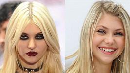 Taylor Momsen a její roztomilá tvář se změnila v upíří vzhled.