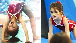 Suri Cruise gymnastika začala bavit.