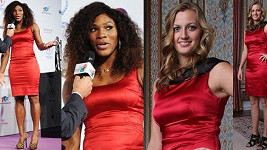 Petra Kvitová a Serena Williams sáhly po podobných šatech.