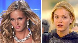 Dvě podoby Erin Heatherton.