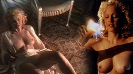 Madonna v erotické roli.