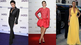 Victoria Beckham, Emma Watson a Blake Lively.