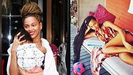 Beyoncé i její sestra Solange zvolily na léto copánky.