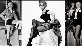 Marlene Dietrich fascinovala davy. Na své nohy byla pyšná a nebála se je ukazovat.