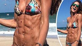 Která z modelek si vypěstovala takové svaly?