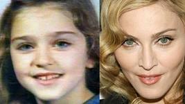 Madonna měla od dětství výrazné a velké oči.