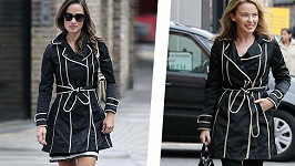 Pippa Middleton a Kylie Minogue.