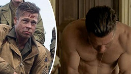 Brad Pitt ve filmu Fury