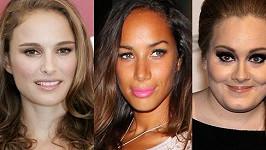 Natalie Portman, Leona Lewis a Adele.