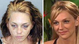 Renee Alway propadla drogám.