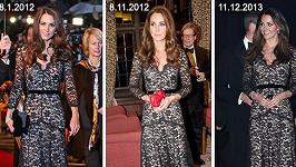 Vévodkyně z Cambridge a její možná nejoblíbenější šaty...