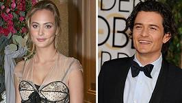 Orlando si údajně začal s mladou herečkou Norou Arnezeder.