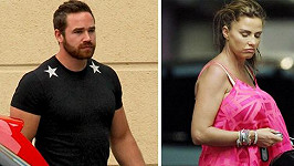 Katie Price a Kieran Hayler spolu navzdory manželskému odloučení uspořádali oslavu.