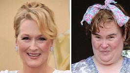 Meryl Streep má ve filmu ztvárnit ženu z lidu Susan Boyle.