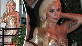 Výjimečně krásná a elegantní Lady Gaga