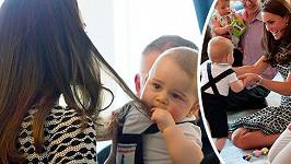 Princ George se stává nejsledovanějším dítětem světa...