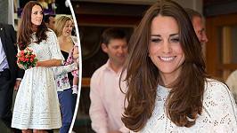 Kate tentokrát zvolila šaty od australského návrháře.