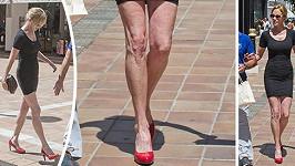 Melanie Griffith má nohy jako párátka.