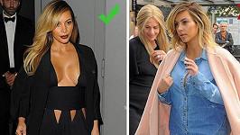 Kim Kardashian a její módní úlovky.