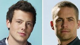 Cory Monteith a Paul Walker