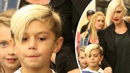 Gwen Stefani se synem Kingstonem.