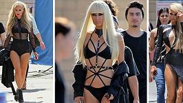 Paris Hilton natáčela klip ke své nové písni High Off My Love.