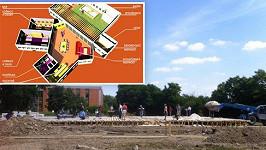 Návrh vily a první stavební práce
