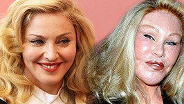 Madonna a Jocelyn Wildenstein.