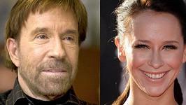 Chuck Norris a Jennifer Love Hewitt.