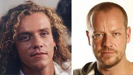 Filip Blažek v roce 1993 a nyní