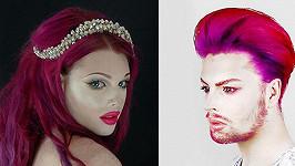 Joseph Harwood je král make-upu...