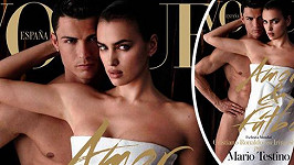 Cristiano s Irinou pro Vogue