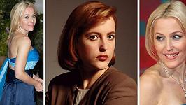 Gillian Anderson a její proměna k lepšímu...