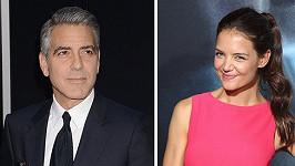 George Clooney pokukuje po Katie Holmes.
